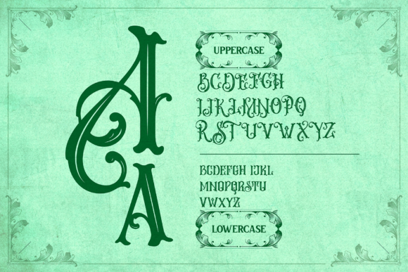 Print on Demand: Melvca Display Font By typealiens - Image 11