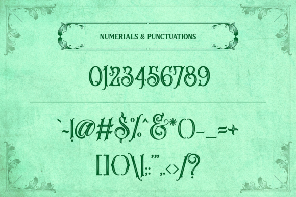 Print on Demand: Melvca Display Font By typealiens - Image 12