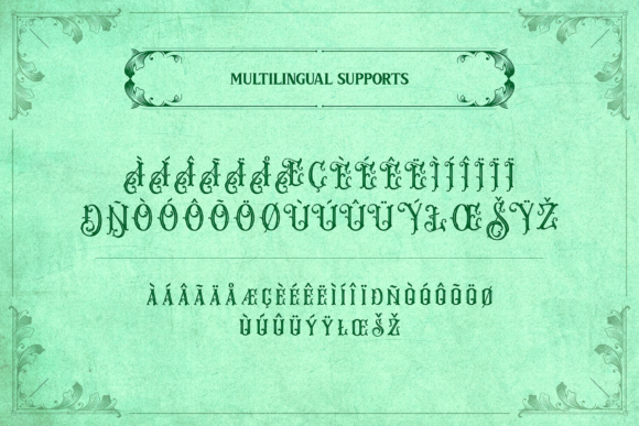 Print on Demand: Melvca Display Font By typealiens - Image 13