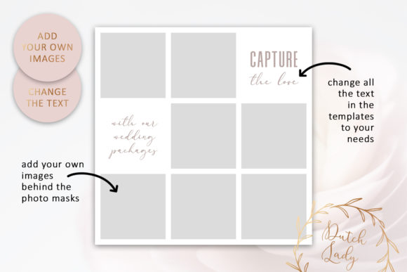 Download Free Psd Instagram Post Template Set 3 Graphic By Daphnepopuliers Creative Fabrica for Cricut Explore, Silhouette and other cutting machines.