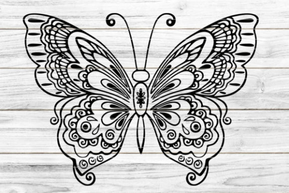 Plotterdatei Butterfly Graphic Crafts By seehas-design