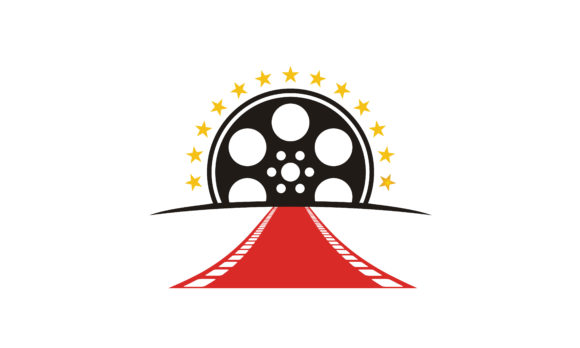 Download Free Red Carpet Filmstrip Award Movie Logo Graphic By Enola99d for Cricut Explore, Silhouette and other cutting machines.