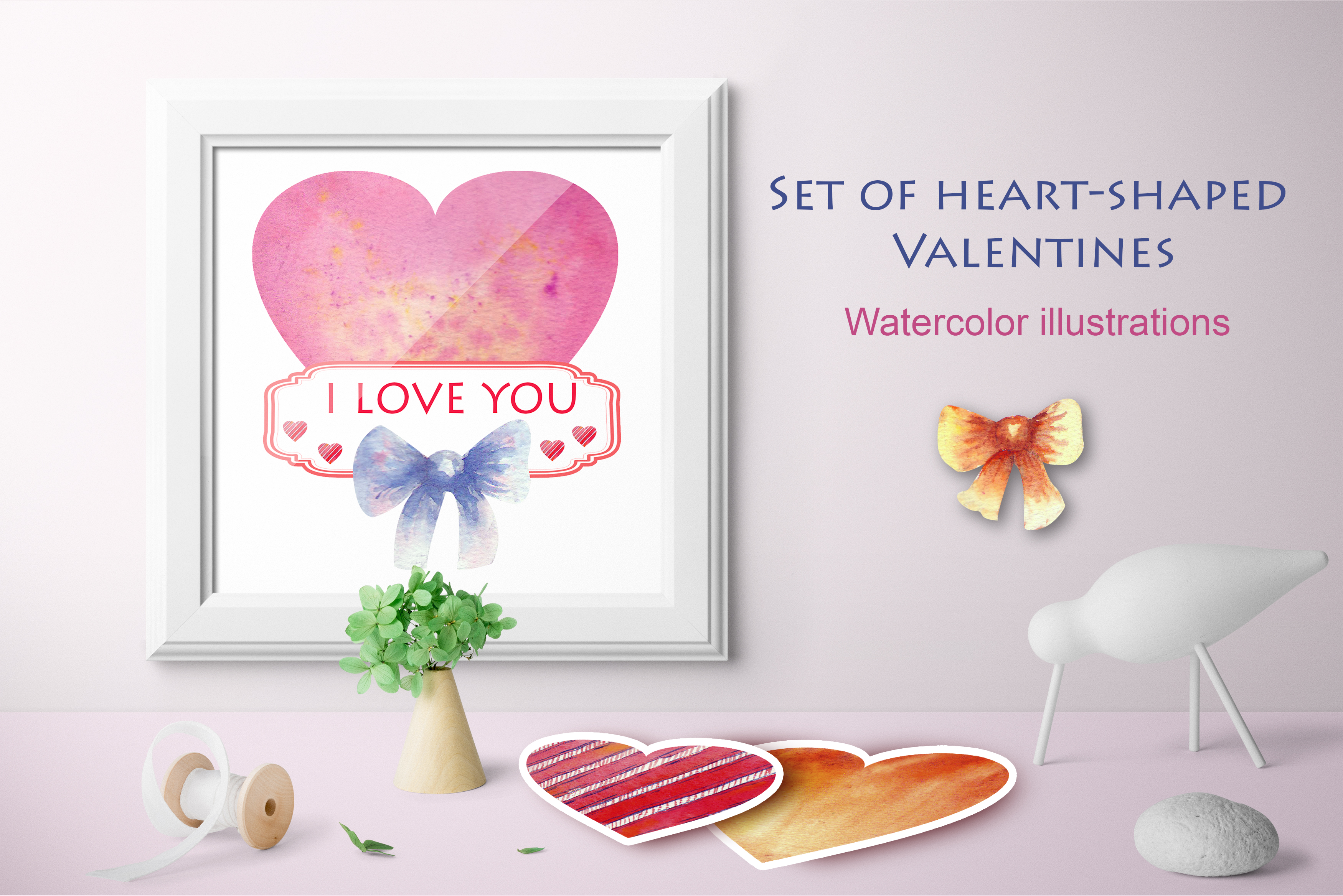 Set Of Hearts For Valentine S Day Graphic By Natika Art