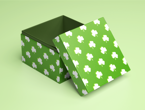 Download Free St Patrick S Day Patterns Graphic By La Oliveira Creative Fabrica for Cricut Explore, Silhouette and other cutting machines.