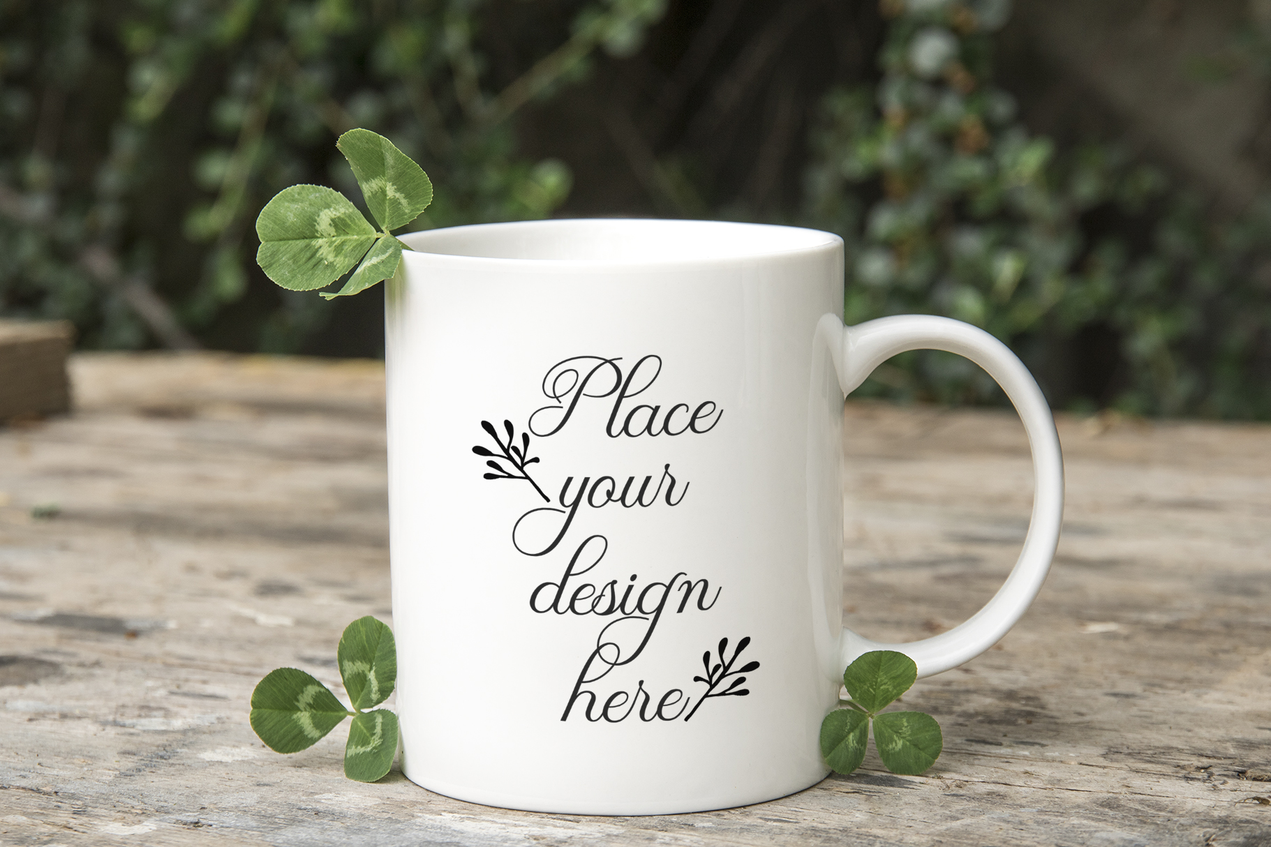 Download Free St Patricks Day 11oz Coffee Mug Mockup Graphic By Leo Flo for Cricut Explore, Silhouette and other cutting machines.