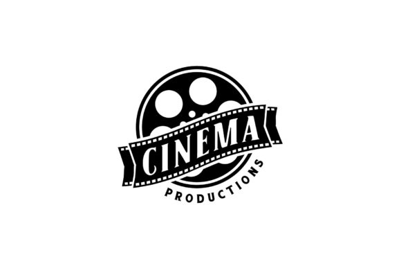 Download Free Filmstrip Tapes Movie Cinema Film Logo Graphic By Enola99d for Cricut Explore, Silhouette and other cutting machines.