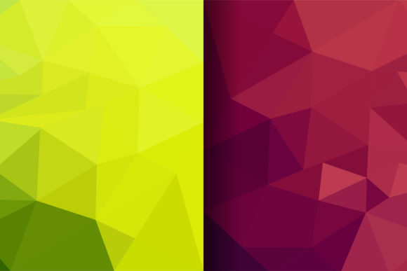 Download Free Light Green And Red Polygonal Background Graphic By Noory for Cricut Explore, Silhouette and other cutting machines.