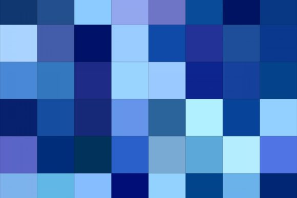 Blue Abstract Square Background Graphic Backgrounds By davidzydd - Image 1