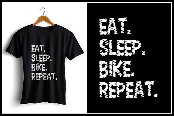 Download Free Eat Sleep Bike Repeat Graphic By Zaibbb Creative Fabrica for Cricut Explore, Silhouette and other cutting machines.
