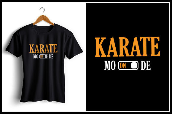 Download Free Karate Mode On Graphic By Zaibbb Creative Fabrica for Cricut Explore, Silhouette and other cutting machines.