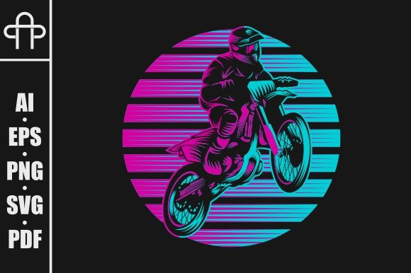 Print on Demand: Jump Motocross Graphic Illustrations By Andypp