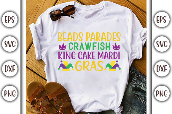 Beads Parades Crawfish Svg Design Graphic By Graphicsbooth
