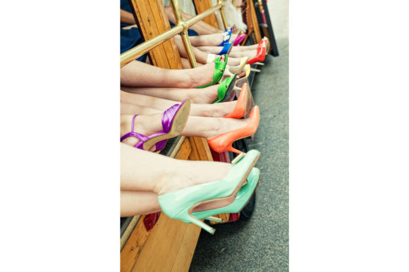 Colorful Shoes Graphic Photos By Luna Bay Designs