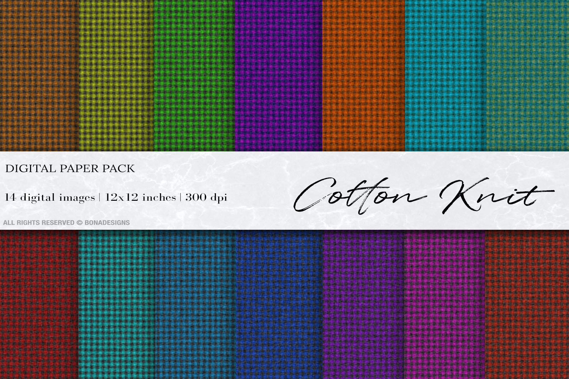 Download Free Cotton Knit Digital Papers Fabric Textu Graphic By Bonadesigns SVG Cut Files