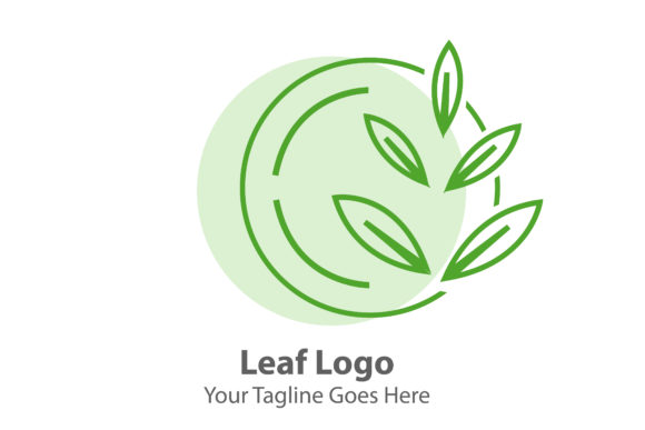 LEAF LOGO Graphic Logos By Thingraphic
