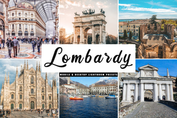Print on Demand: Lombardy Lightroom Presets Pack Graphic Actions & Presets By Creative Tacos