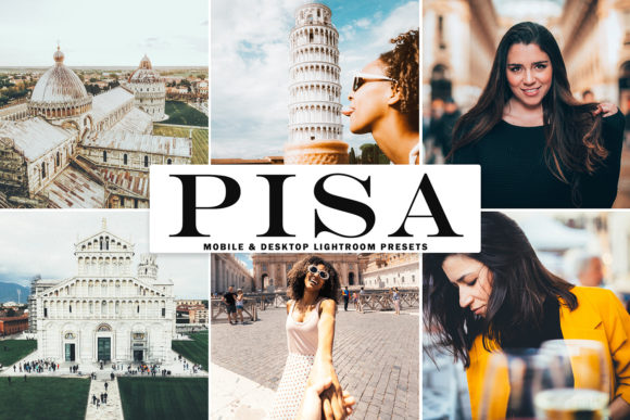 Print on Demand: Pisa Lightroom Presets Pack Gráfico Acciones y Pre-ajustes Por Creative Tacos