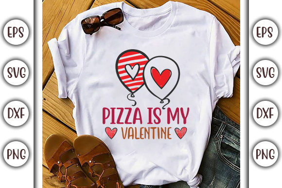 Download Free Pizza Is My Valentine Svg Design Graphic By Graphicsbooth for Cricut Explore, Silhouette and other cutting machines.