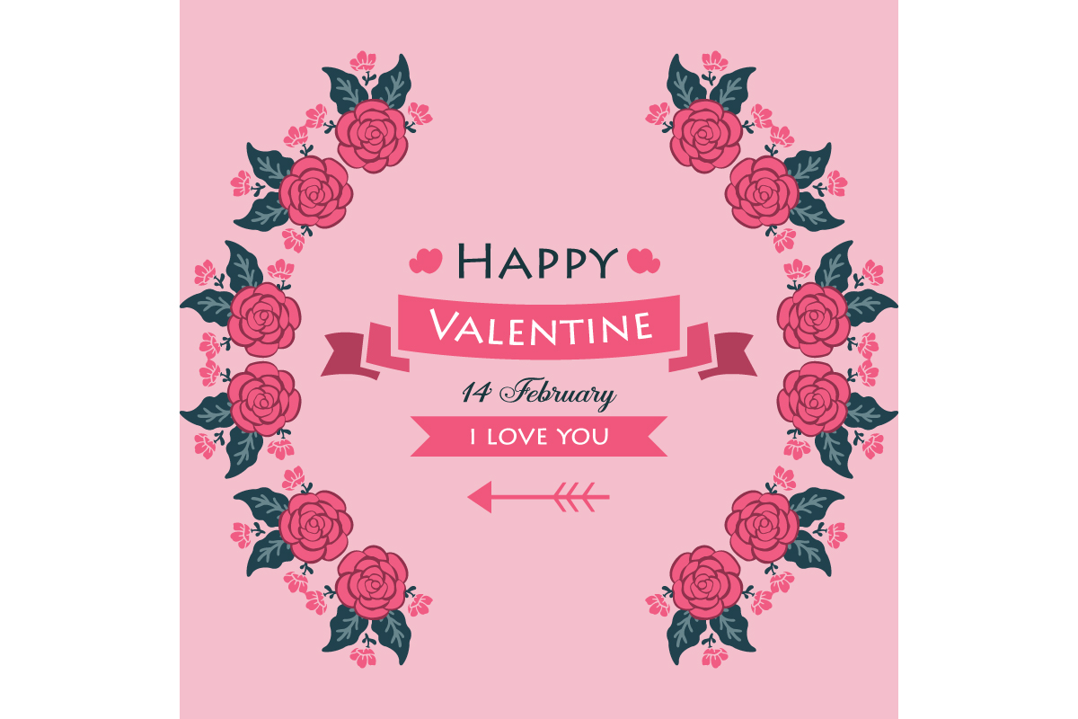 Poster Of Happy Valentine Graphic By Stockfloral Creative Fabrica