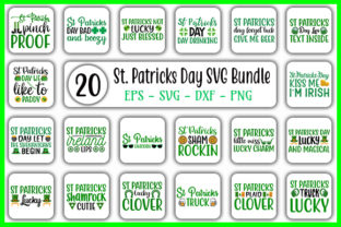 Download Free St Patrick S Day Svg Design Bundle Graphic By Graphicsbooth for Cricut Explore, Silhouette and other cutting machines.