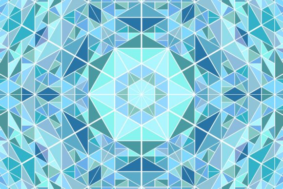 Triangle Mosaic Background Graphic Backgrounds By davidzydd