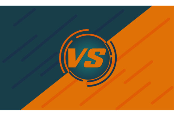 Print on Demand: Versus Screen Graphic Backgrounds By Frog Ground