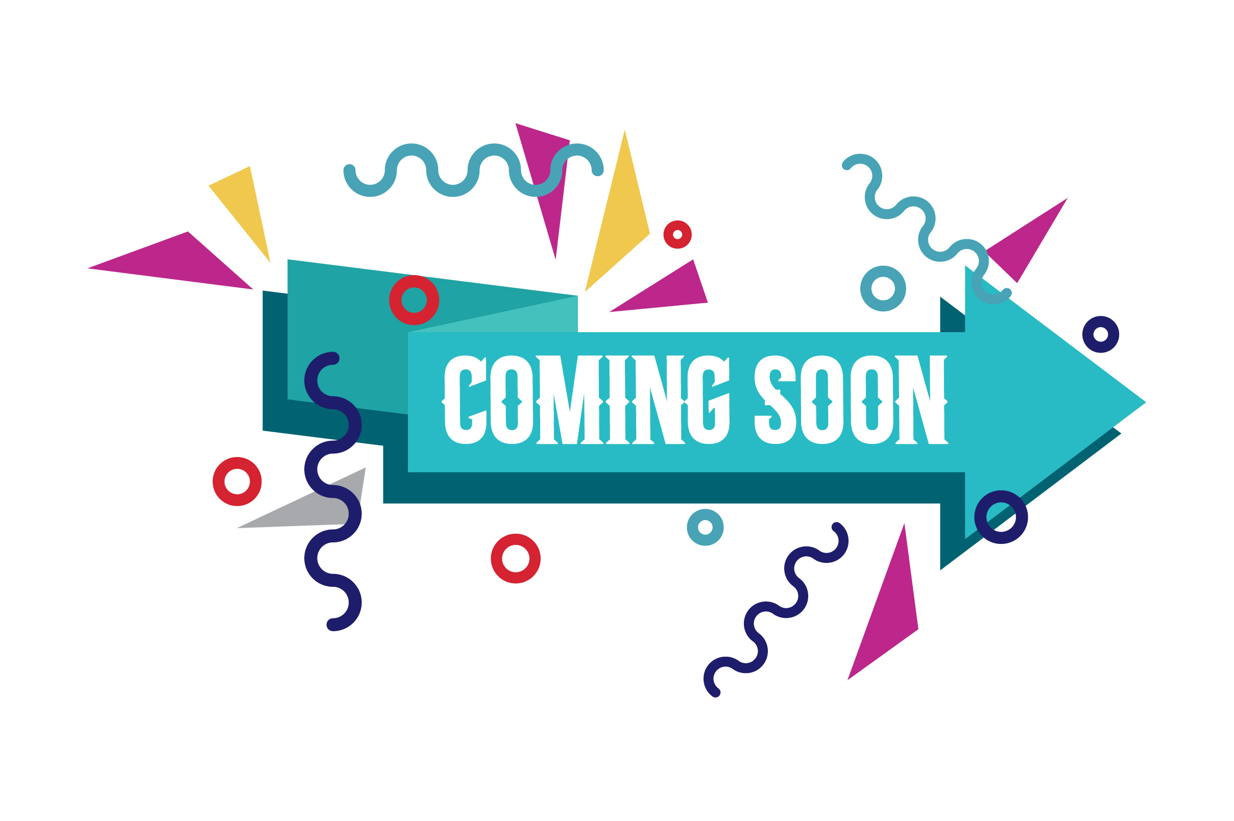 Banner Ribbon Coming Soon Graphic By Frog Ground Creative Fabrica