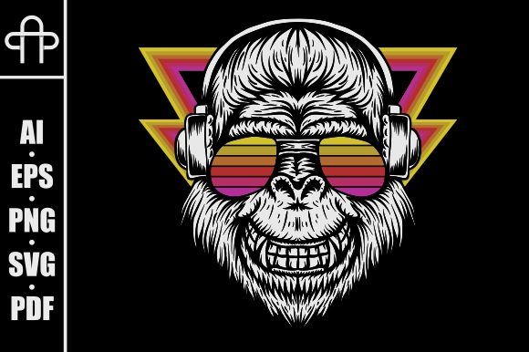 Print on Demand: Gorilla Graphic Illustrations By Andypp