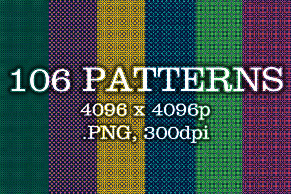 106 Patterns Graphic Patterns By vessto