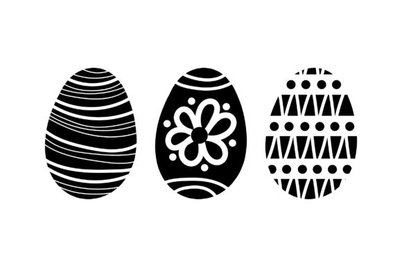 Download Free Painted Easter Eggs Svg Cut File By Creative Fabrica Crafts for Cricut Explore, Silhouette and other cutting machines.