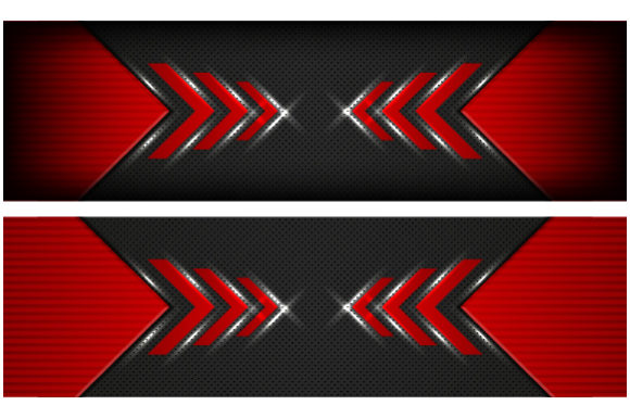 Download Free Abstract Arrow Red Background Graphic By Mrbrahmana Creative for Cricut Explore, Silhouette and other cutting machines.