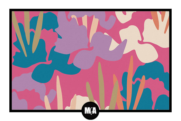 Download Free Abstract Flowers 4 Graphic By Modernfloralartist Creative Fabrica for Cricut Explore, Silhouette and other cutting machines.