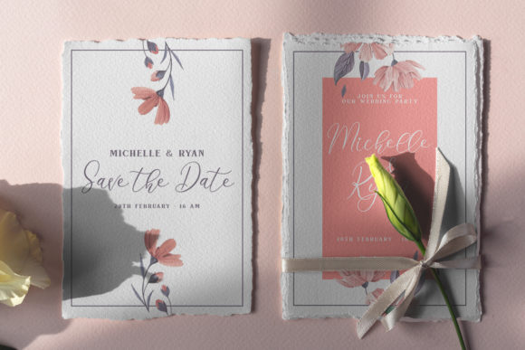 Print on Demand: Angelia Script Script & Handwritten Font By Yumna_Type - Image 3
