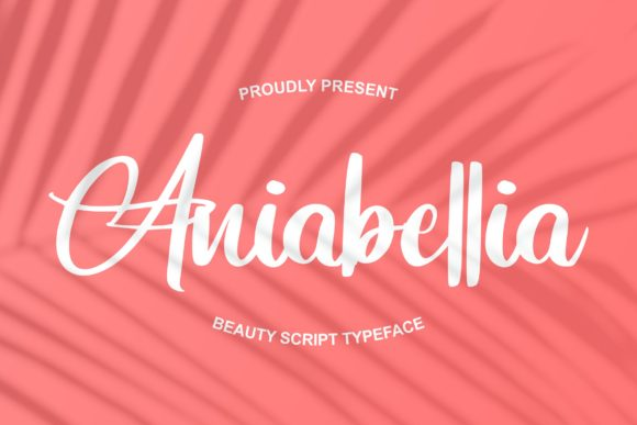 Print on Demand: Aniabellia Script & Handwritten Font By Vunira