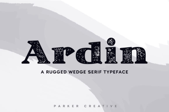 Print on Demand: Ardin Serif Font By aparker1988