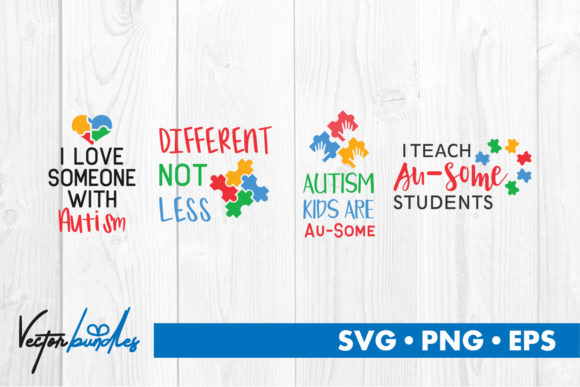 Download Free Autism Quotes Grafico Por Vectorbundles Creative Fabrica SVG Cut Files