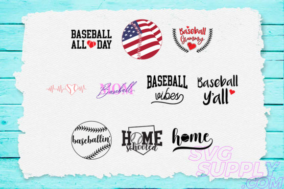 Download Free Baseball Quotes Bundle Graphic By Svgsupply Creative Fabrica for Cricut Explore, Silhouette and other cutting machines.