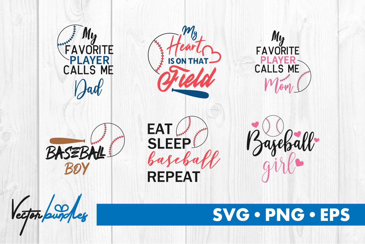 Download Free Baseball Quotes Graphic By Vectorbundles Creative Fabrica for Cricut Explore, Silhouette and other cutting machines.