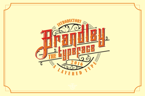 Print on Demand: Brandley Display Font By uncurve