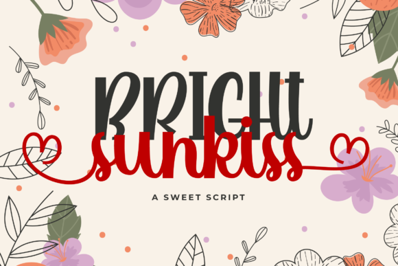 Print on Demand: Bright Sunkiss Script & Handwritten Font By blankcraft.co