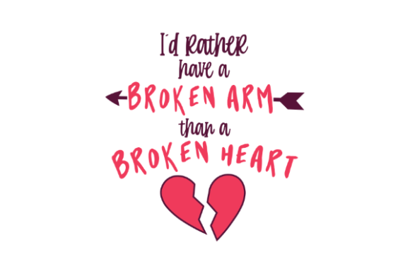 Broken Heart Bundle Graphic Crafts By Graphipedia - Image 5