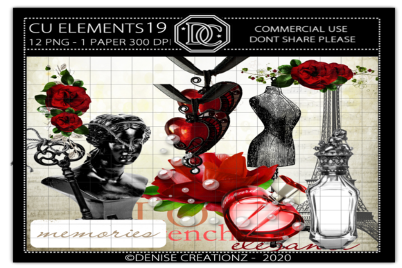 CU Elements 19 Graphic Crafts By Denise Creationz