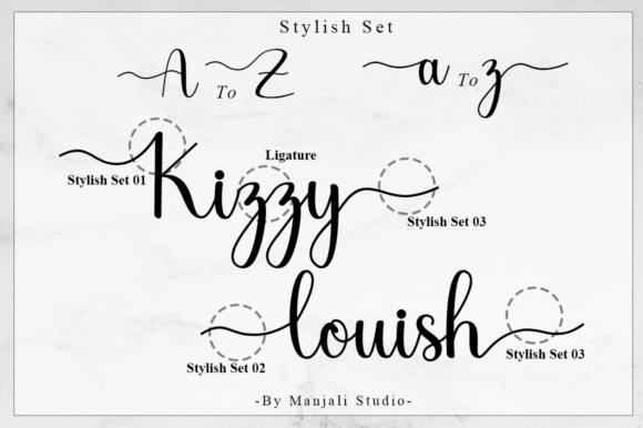 Print on Demand: Chariska Script & Handwritten Font By Manjalistudio - Image 9