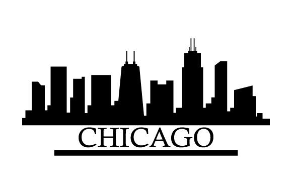Print on Demand: Chicago Skyline Graphic Icons By marco.livolsi2014