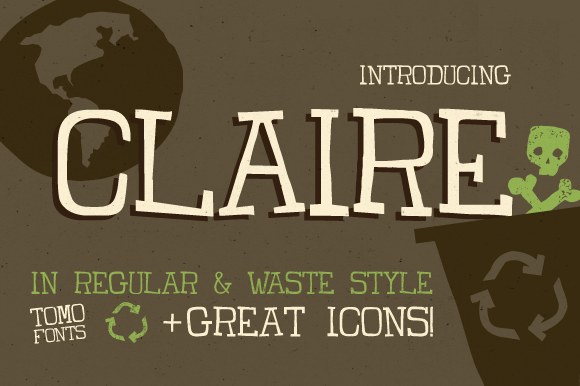 Print on Demand: Claire Display Font By TOMO Fonts - Image 1