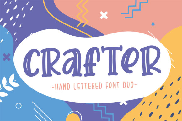 Print on Demand: Crafter Display Font By Sigit Dwipa - Image 1