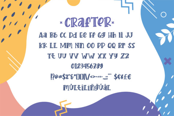Print on Demand: Crafter Display Font By Sigit Dwipa - Image 4