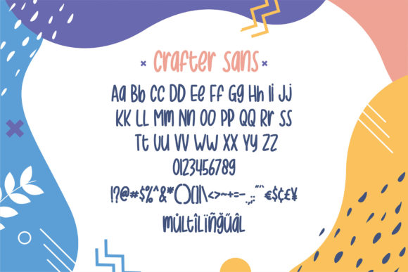 Print on Demand: Crafter Display Font By Sigit Dwipa - Image 5