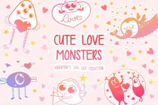 Print on Demand: Cute Monsters Graphic Crafts By tatiana.cociorva