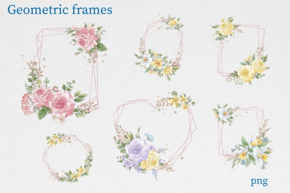 Print on Demand: Delicate Spring Flowers Graphic Illustrations By nicjulia - Image 10